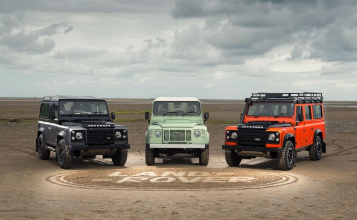Land Rover Defender 2015 limited editions carwitter 700x432 - Final limited editions of the Land Rover Defender launch - Final limited editions of the Land Rover Defender launch