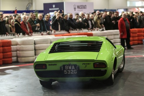 London Classic Car Show Miura carwitter 491x327 - London Classic Car Show 2015 - Review - London Classic Car Show 2015 - Review