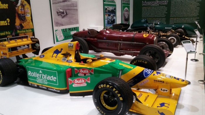 London Classic Car Show Motorsport - carwitter