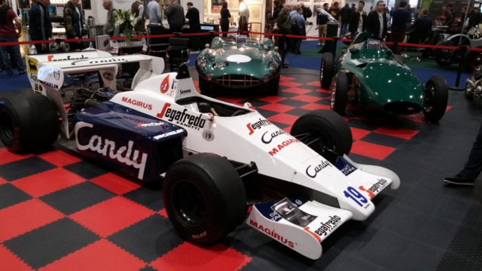 London Classic Car Show Toleman - carwitter
