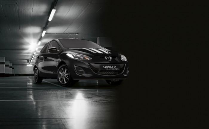 Mazda 2 Black Edition carwitter 700x432 - Mazda 2 Black and White editions welcome in 2015 - Mazda 2 Black and White editions welcome in 2015