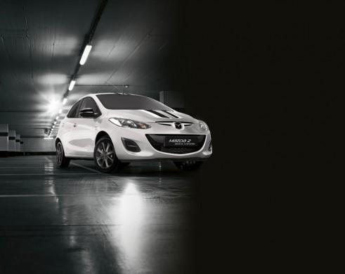 Mazda 2 White Edition - carwitter