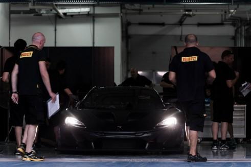 McLaren P1 GTR front- carwitter