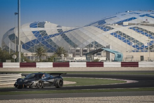 McLaren P1 GTR testing 7 carwitter 491x328 - McLaren P1 GTR to debut in Geneva - McLaren P1 GTR to debut in Geneva