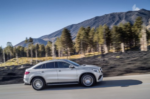 Mercedes GLE 63 Coupe side carwitter 491x326 - Mercedes unveils hot GLE 63 AMG - Mercedes unveils hot GLE 63 AMG