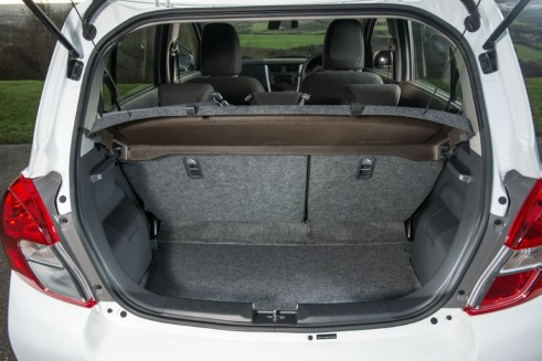 Suzuki Celereo Review - Boot Space - carwitter