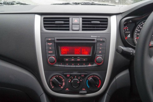Suzuki Celerior Review - Centre Console - Carwitter
