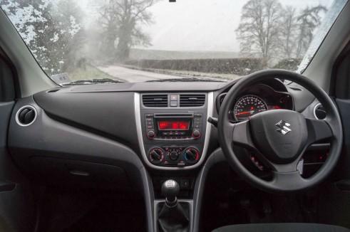 Suzuki Celerior Review - Dashboard - Carwitter