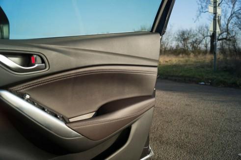 2015 Mazda 6 Review Door Trim Carwitter 491x326 - 2015 Mazda 6 Review – Updated & Improved - 2015 Mazda 6 Review – Updated & Improved