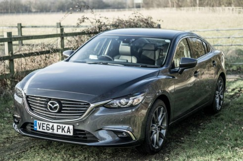 2015 Mazda 6 Review - Front Angle Close - Carwitter