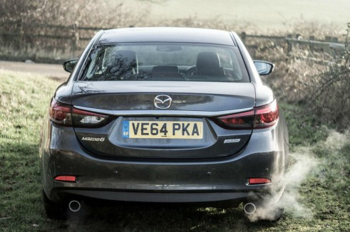 2015 Mazda 6 Review - Rear - Carwitter