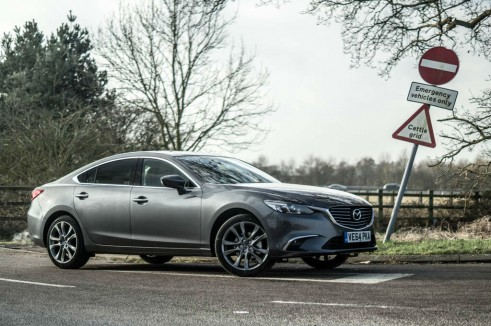 2015 Mazda 6 Review - Side - Carwitter