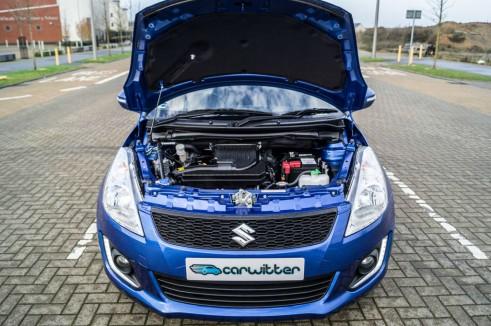 2015 Suzuki Swift DualJet - Bonnet Up Engine - carwitter