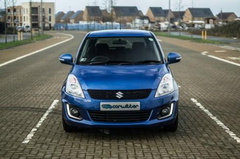 2015 Suzuki Swift DualJet - Front Far - carwitter