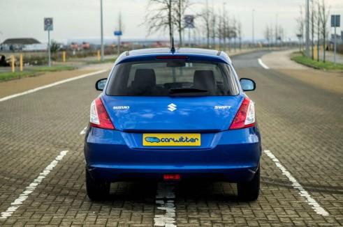 2015 Suzuki Swift DualJet - Rear - carwitter