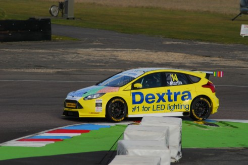 Alex Martin Thruxton Test 2015 Ford Focus ST 491x328 - Carwitter talks to two tin top champions - Carwitter talks to two tin top champions