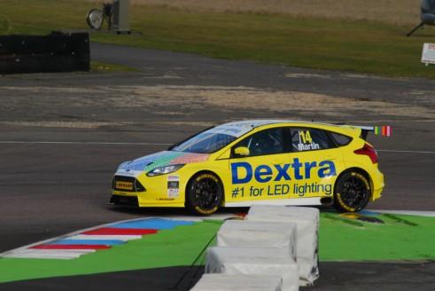 Alex Martin Thruxton Test 2015 Ford Focus ST