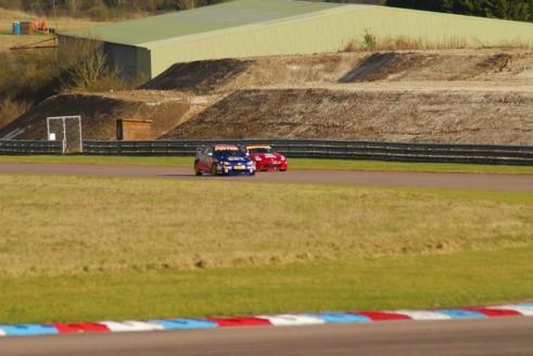 Andrew Jordan MG 6 & Nissan Thruxton Test 2015