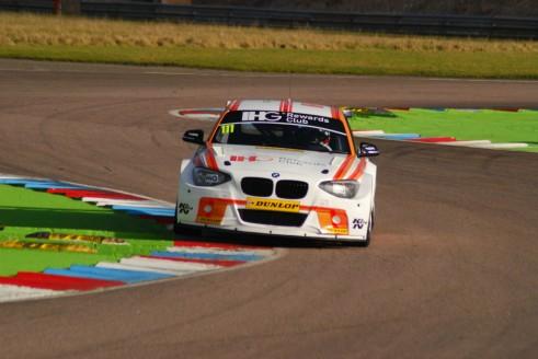 Andy Priaulx Thruxton Test 2015 BMW 1M