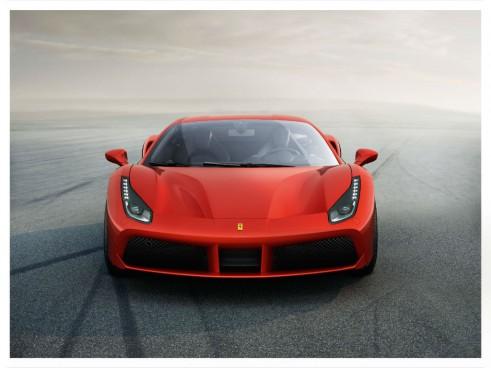 Ferrari 488 GTB front - carwitter
