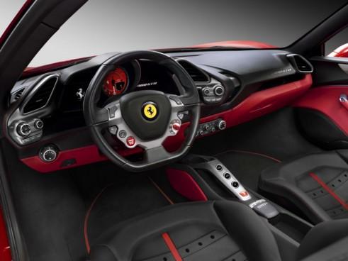Ferrari 488 GTB interior carwitter 491x368 - Ferrari unveils turbocharged 488 GTB - Ferrari unveils turbocharged 488 GTB