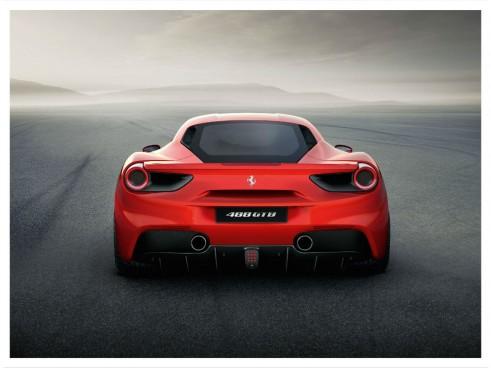 Ferrari 488 GTB rear carwitter 491x368 - Ferrari unveils turbocharged 488 GTB - Ferrari unveils turbocharged 488 GTB