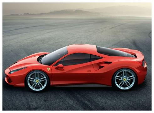 Ferrari 488 GTB side - carwitter
