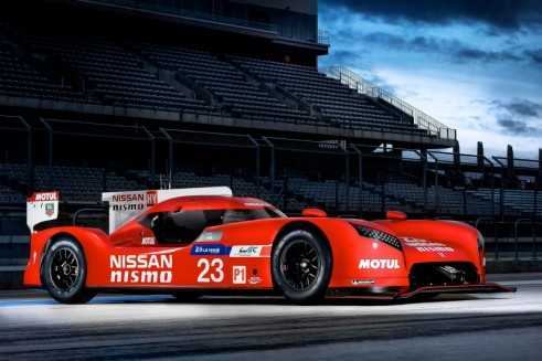 Nissan GT-R LM NISMO - Front Angle - Carwitter