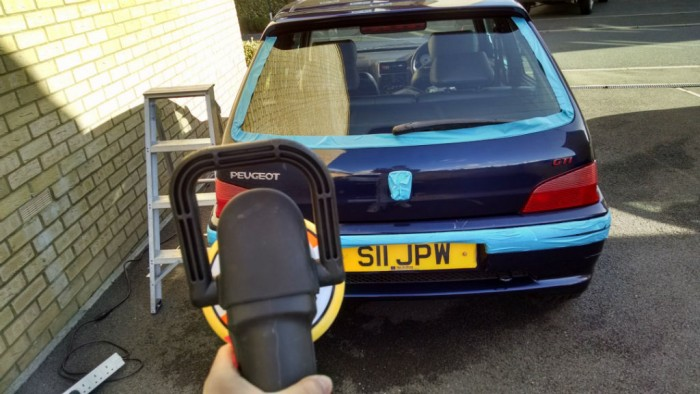Peugeot 106 GTi - Paint Correction - Carwitter - 02