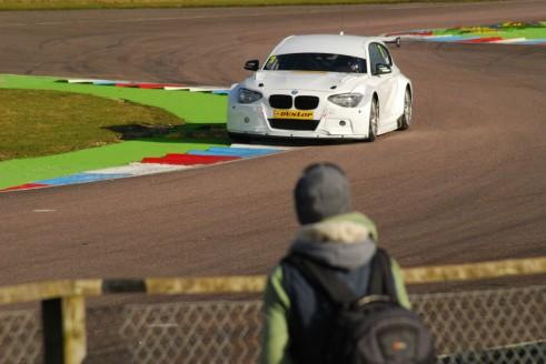 Sam Tordoff Thruxton Test 2015 BMW 1M