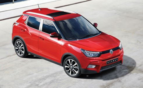 SsangYong Tivoli - Front - carwitter