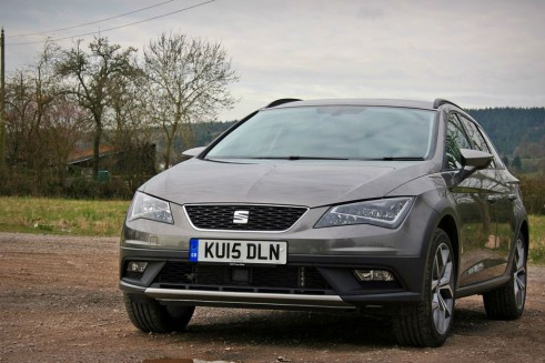 2015 Seat Leon X Perience Review front left Carwitter 491x327 - Seat Leon X-Perience Review - Rugged Lifestyle - Seat Leon X-Perience Review - Rugged Lifestyle