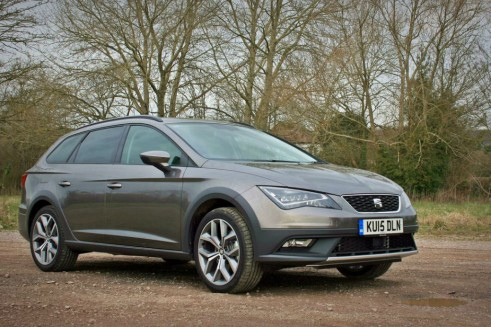2015 Seat Leon X Perience Review front right Carwitter 491x327 - Seat Leon X-Perience Review - Rugged Lifestyle - Seat Leon X-Perience Review - Rugged Lifestyle