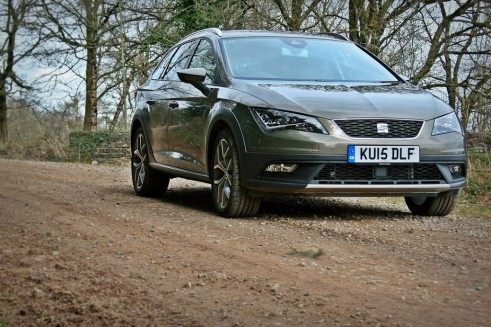 2015 Seat Leon X Perience Review front right low Carwitter 491x327 - Seat Leon X-Perience Review - Rugged Lifestyle - Seat Leon X-Perience Review - Rugged Lifestyle