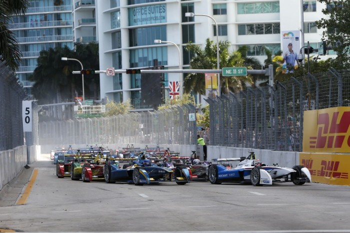 Formula E - Miami - Start