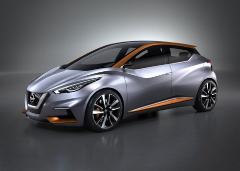 Nissan Sway Concept - Front Quarter - carwitter
