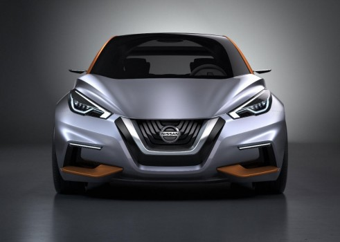 Nissan Sway Concept - Front - carwitter