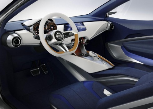 Nissan Sway Concept - Interior - carwitter