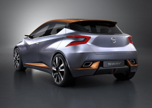 Nissan Sway Concept - Rear Quarter - carwitter