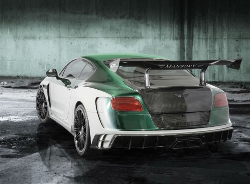 mansory - bentley gt-race rear