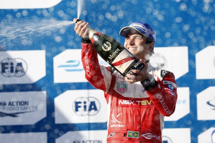 Formula E Long Beach Piquet Jr Podium 700x467 - Formula E - Long Beach – Piquet Jr Becomes Sixth Different Winner - Formula E - Long Beach – Piquet Jr Becomes Sixth Different Winner