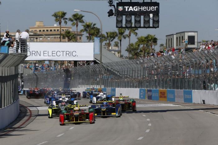 Formula E - Long Beach - Start