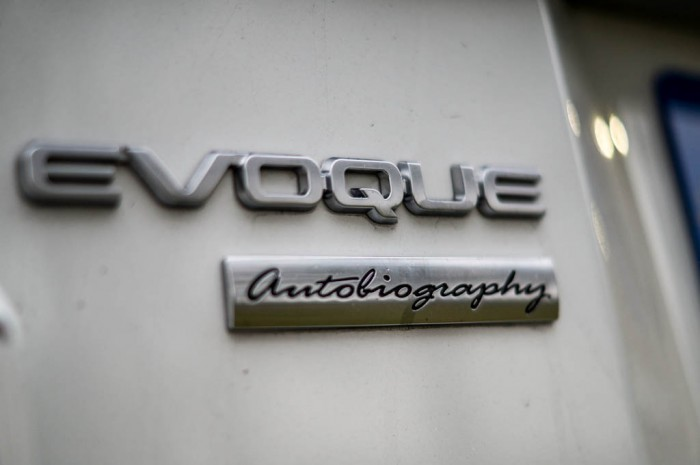 2015 Range Rover Evoque Autobiography 4WD Review - Rear Badge - Carwitter