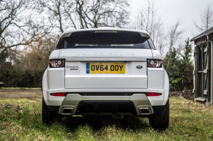 2015 Range Rover Evoque Autobiography 4WD Review - Rear - Carwitter
