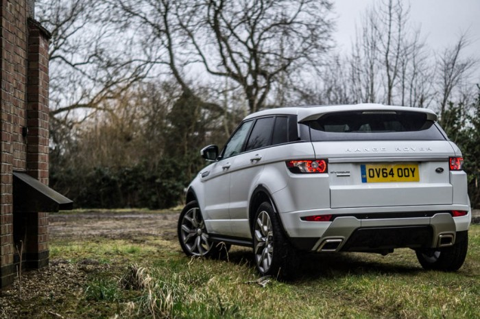 2015 Range Rover Evoque Autobiography 4WD Review - Rear Scene - Carwitter