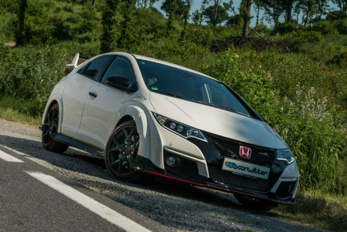 2015 Honda Civic Type R Front Side Angle Close carwitter 700x468 - 2015 Honda Civic Type R  Review – VTEC, but not as we know it - 2015 Honda Civic Type R  Review – VTEC, but not as we know it