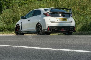 2015 Honda Civic Type R Rear Side Angle carwitter 300x200 - Why a hot hatch is the perfect all-round car - Why a hot hatch is the perfect all-round car