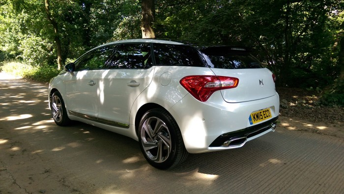 DS 5 Review UK First Drive 150 Rear Three Quarter 700x396 - 2015 <del>Citroën</del> DS 5 Review - A brand launcher? - 2015 <del>Citroën</del> DS 5 Review - A brand launcher?