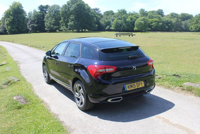 DS 5 Review UK First Drive 180 Rear Three Quarter 700x467 - 2015 <del>Citroën</del> DS 5 Review - A brand launcher? - 2015 <del>Citroën</del> DS 5 Review - A brand launcher?