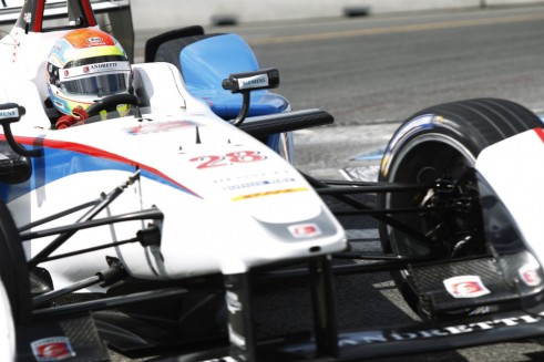 Formula E - Moscow - Justin Wilson